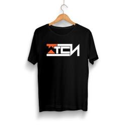 Wtcnn - HH - Wtcnn Logo Siyah T-Shirt