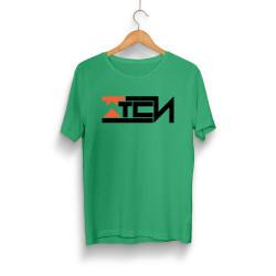 Wtcnn - HH - Wtcnn Logo Yeşil T-Shirt