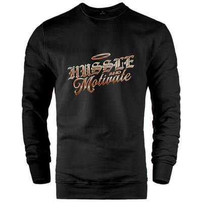 Hussle and Motivate Sweatshirt