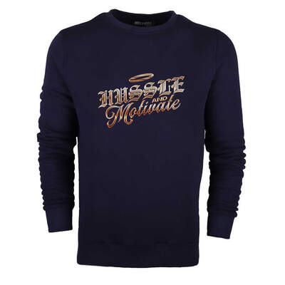 Hussle and Motivate Sweatshirt