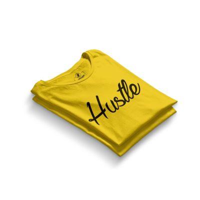HH - Hustle Sarı T-shirt