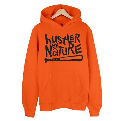 HH - Hustler By Nature Hoodie Turuncu