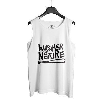 HH - Hustler By Nature Beyaz Atlet