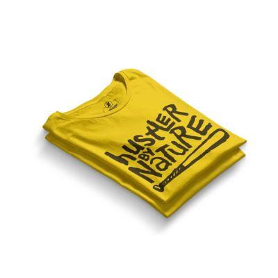 HH - Hustler By Nature Sarı T-shirt