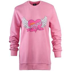 Hyper X - Angel Pembe Sweatshirt - Thumbnail