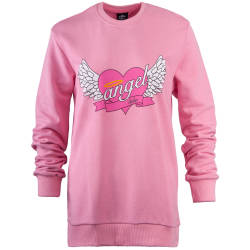 Hyper X - Hyper X - Angel Pembe Sweatshirt