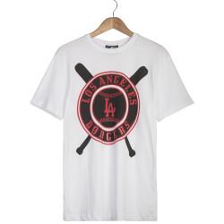 Hyper X - Hyper X - Baseball LA Beyaz T-shirt