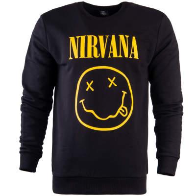 Hyper X - Nirvana Siyah Sweatshirt