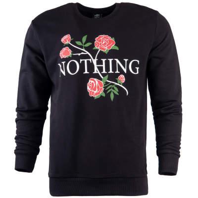 Hyper X - Hyper X - Nothing Siyah Sweatshirt
