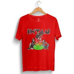 DJ Artz - HollyHood - DJ Artz Ihtan Kırmızı T-shirt