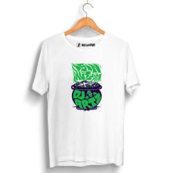 DJ Artz - HollyHood - DJ Artz İşin Mutfağı Beyaz T-shirt