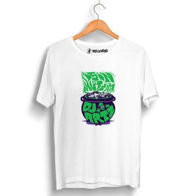 HollyHood - DJ Artz İşin Mutfağı Beyaz T-shirt