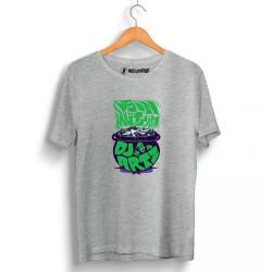 DJ Artz - HollyHood - DJ Artz İşin Mutfağı Gri T-shirt