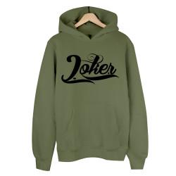 Joker - HH - Joker Logo Haki Cepli Hoodie