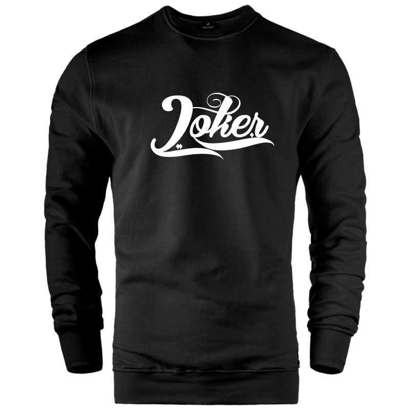 HH - Joker Logo Sweatshirt - Siyah