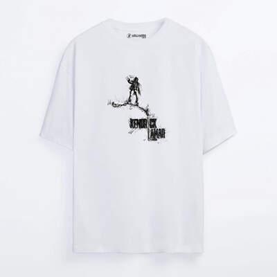 HollyHood - Kendrick Lamar Sketch Oversize T-shirt