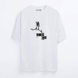 Kendrick Lamar Sketch Oversize T-shirt - Thumbnail