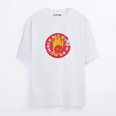 Kendrick Lamar Sticker Oversize T-shirt