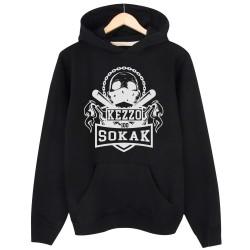 Kezzo - HH - Kezzo %100 Sokak Siyah Hoodie