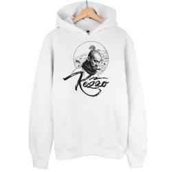 Kezzo - HH - Kezzo Beyaz Cepli Hoodie