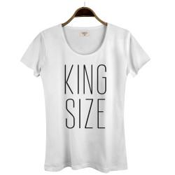 Joker - HollyHood - Joker King Size Kadın Beyaz T-shirt