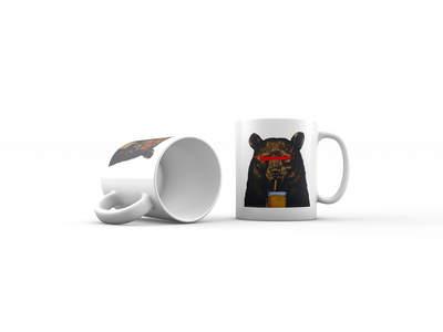 Kupa Bardak Beer Bear