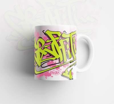 Kupa Bardak Dukstill Graffiti