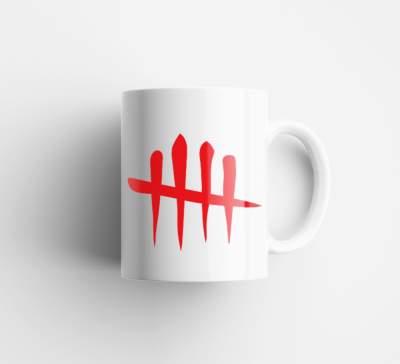 HollyHood - Kupa Bardak HH - Arma Kırmızı