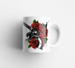 HollyHood - Kupa Bardak Rose Gun