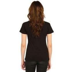 Bant Giyim - Led Zeppelin Kadın Siyah T-shirt - Thumbnail