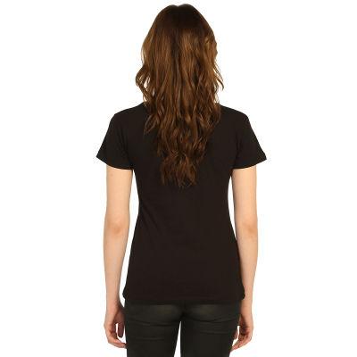 Bant Giyim - Led Zeppelin Kadın Siyah T-shirt