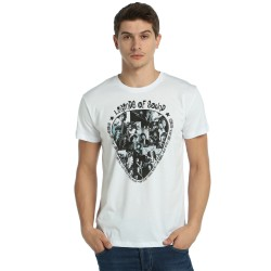 Bant Giyim - Legends Of Rock Beyaz T-shirt - Thumbnail