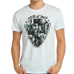 Bant Giyim - Legends Of Rock Beyaz T-shirt - Thumbnail