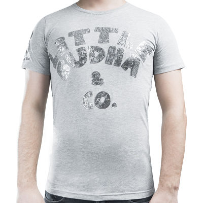 Little Budha Gri T-shirt