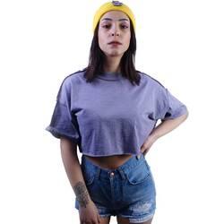 Lila Crop T-shirt - Thumbnail