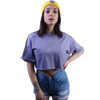 Lila Crop T-shirt