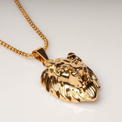 Lion Gold Kolye