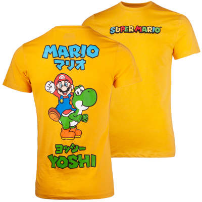 Mario Sarı T-shirt