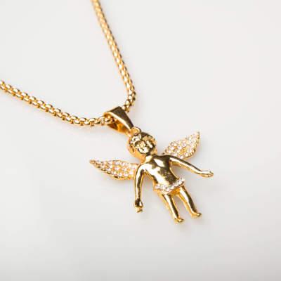 Angel Gold Kolye