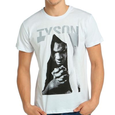 Bant Giyim - Mike Tyson Beyaz T-Shirt