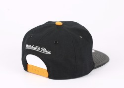 Mitchell And Ness B Sarı ve Siyah Snapback Cap - Thumbnail