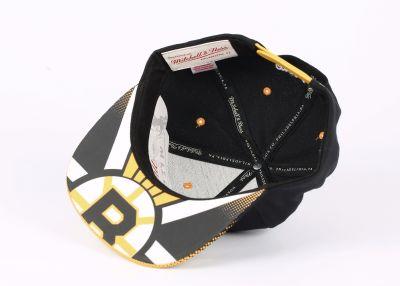 Mitchell And Ness - Boston Bruins Sarı Ve Siyah Snapback Cap