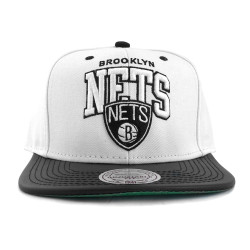 Mitchell And Ness - Mitchell And Ness - Nets Beyaz Snapback Cap