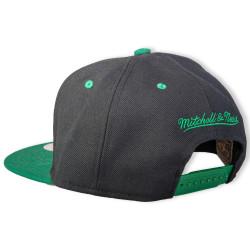 Mitchell And Ness - B. Celtics Siyah Snapback Cap - Thumbnail