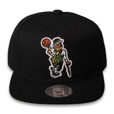Mitchell And Ness - Boston Celtics Logo Siyah Snapback Cap