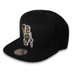 Mitchell And Ness - Mitchell And Ness - Boston Celtics Logo Siyah Snapback Cap