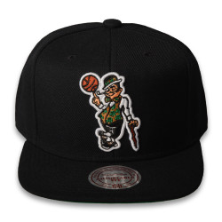 Mitchell And Ness - Mitchell And Ness - Boston Celtics Logo Siyah Snapback Cap (1)