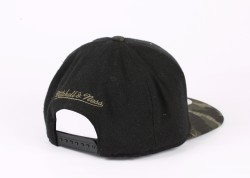 Mitchell And Ness Brooklyn Kamuflaj Snapback Cap - Thumbnail