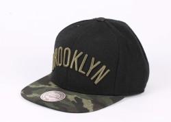 Mitchell And Ness - Mitchell And Ness Brooklyn Kamuflaj Snapback Cap