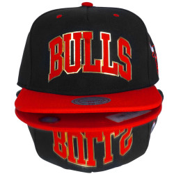 Mitchell And Ness - Mitchell And Ness Bulls Metal Detaylı Snapback Cap